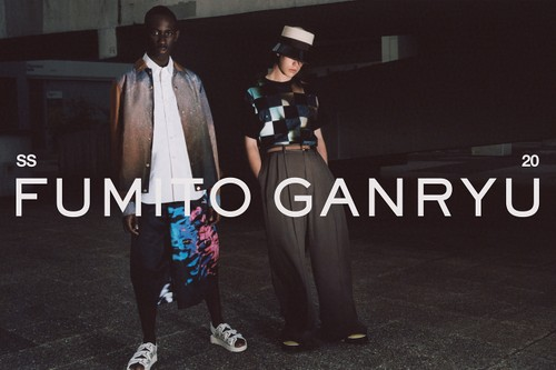 Fumito Ganryu Explores Genderless Fashion & Nature in Eclectic SS20 Collection