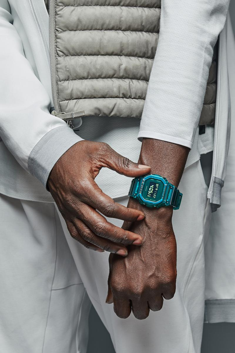 G-SHOCK Fall 2019 Skeleton Series Three Colorways shock resistance water resistance up to 200M a new stopwatch multi-functioning alarm a countdown timer EL backlight Flash Alert one-tone chromatic color casing and band in transparent jelly style nostalgia technology