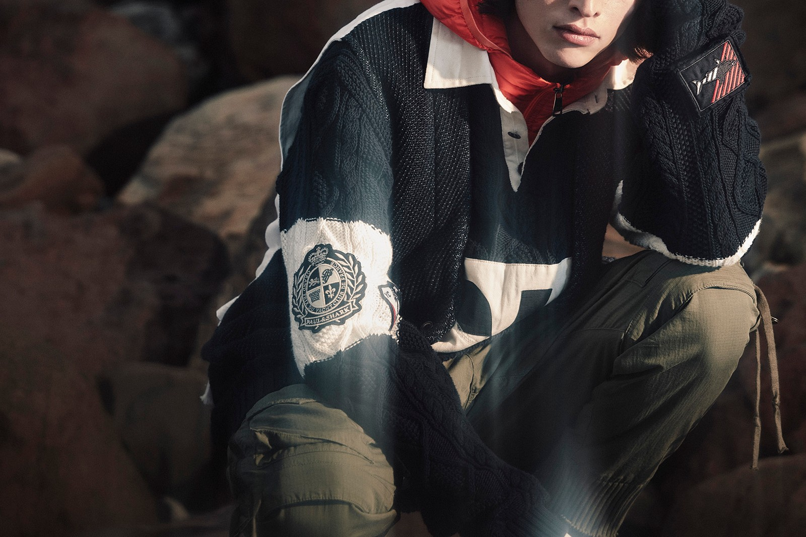 Paul&Shark Presents Latest Greg Lauren Collaboration collection Decnostruct