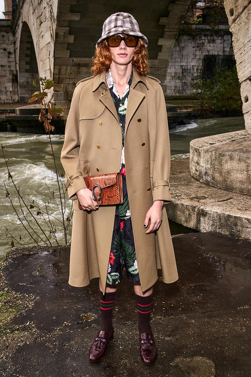 Gucci Pre-Fall 2020 Lookbook Alessandro Michele Bruce Gilden Photographed Roma Italy Collection Closer Look Menswear Tailoring Sportswear GG