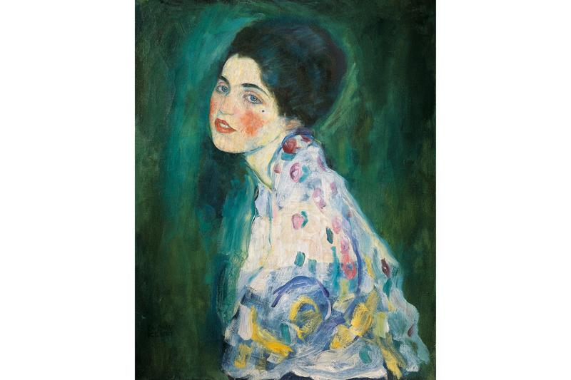 gustav klimt portrait of a lady galleria darte moderna ricci oddi art gallery artworks paintings