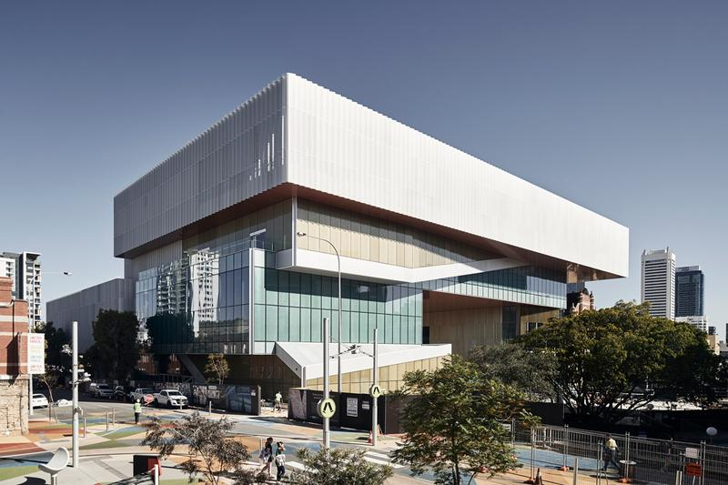 New Museum for Western Australia HASSELL + OMA Perth