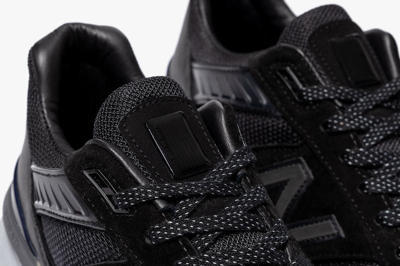 Haven x New Balance 990v5 Release Info new york nyc pop-up drop date price where to cop horween leather cordura mesh nubuck all-black 3M