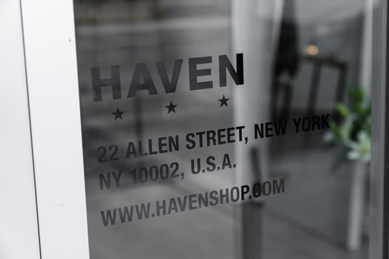 HAVEN New York FW19 Pop-Up Shop Inside Look interview Arthur Chmielewski