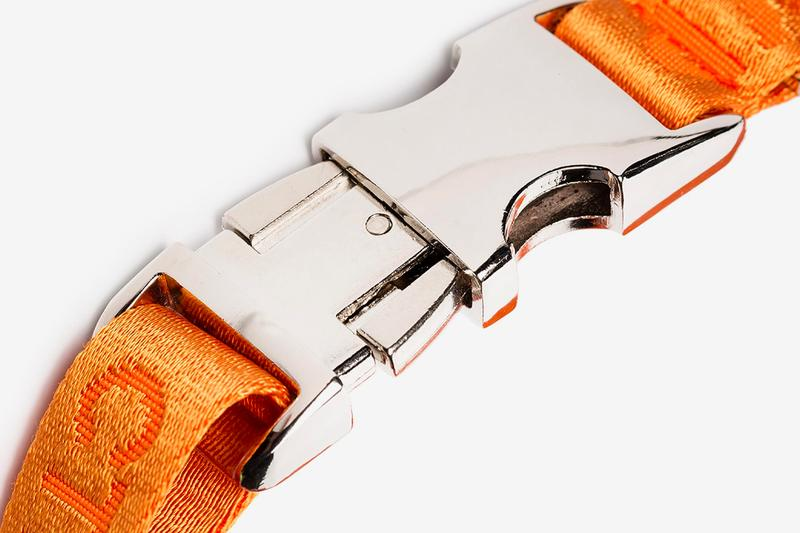 Heron Preston Orange Buckled Dog Collar Release Where to buy Price 2019