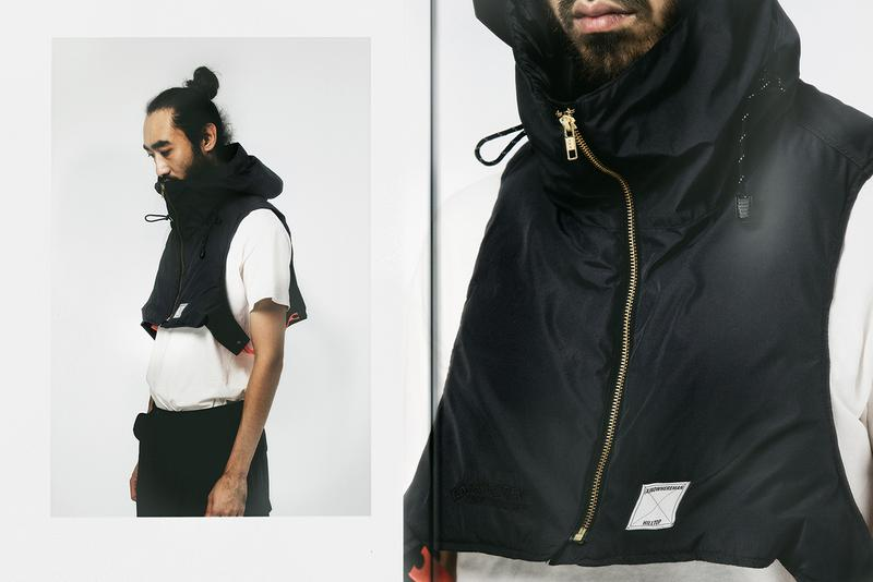 """Hilltop x (A)NOWHEREMAN Fall/Winter 2019 """"Grey Wall"""" GORE-TEX Capsule Collection Taiwanese Streetwear Label Sustainable Green Message Fabrics Lookbooks Jackets Outerwear"""