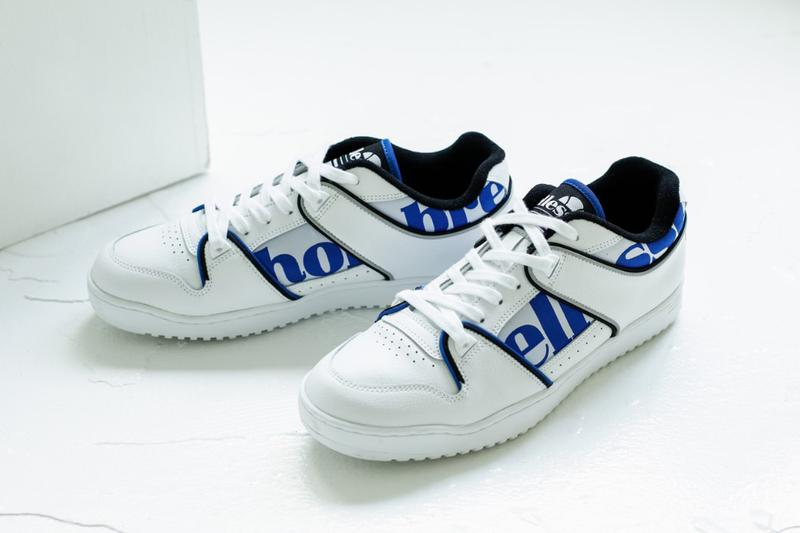 Hombre Niño x Ellesse Sneaker, Apparel Collaboration ss20 spring summer 2020 yoppi goldwin japan december 2019 release date collection assist hi lo EFH0120HN EFH0121 EH19300HN  EAE1930HN