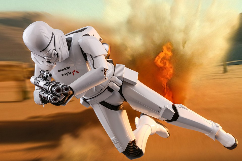 Hot Toys Unveils Incredibly Detailed 'Star Wars: The Rise of Skywalker' Jet Trooper 1/6 Figure