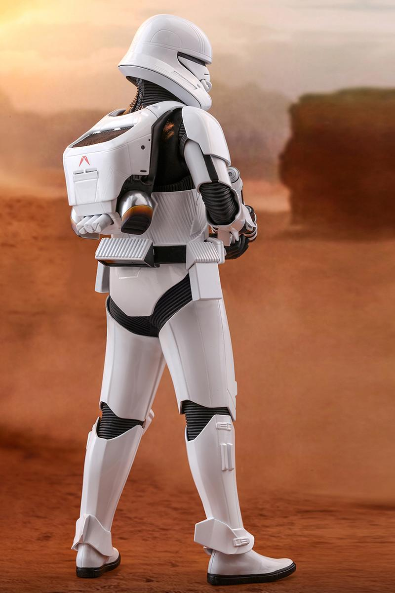 Hot Toys 'Star Wars: The Rise of Skywalker' 1/6th scale Jet Trooper Collectible Figure Toy Stormtrooper First Order Galactic Empire Release Information Closer Look MMS561