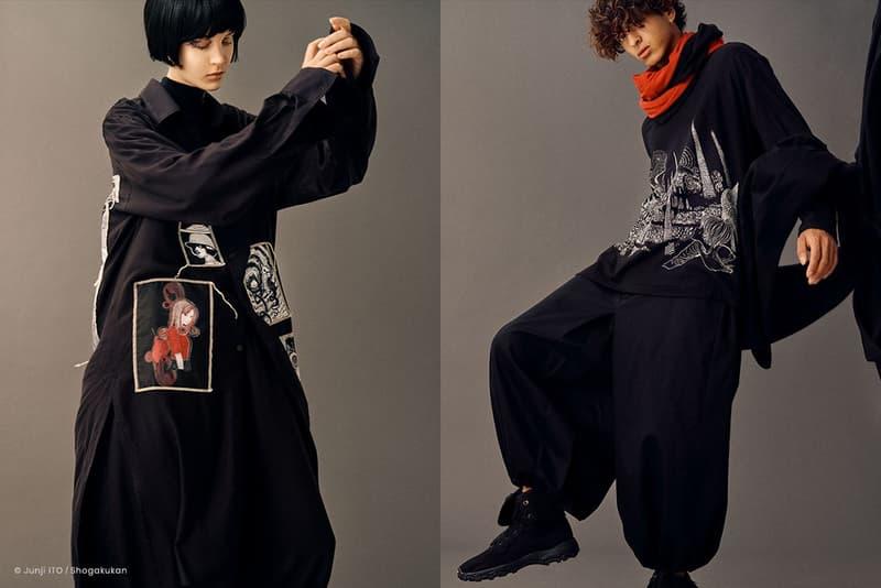 S'YTE Enlists Manga Artist Junji Ito For Upcoming Collaboration Fashion Art Manga Illustration Streetwear Luxury Japan