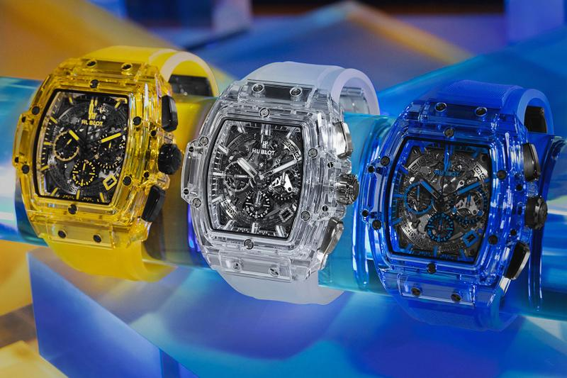 Hublot Launches World's First Yellow Sapphire Watch Timepieces Sapphire Spirit of Big Bang