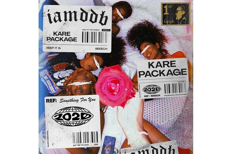IAMDDB 'Kare Package' EP Stream R&B singer songwriter hip-hop listen now spotify apple music Union IV Recordings christmas bubble tea scare you sit back