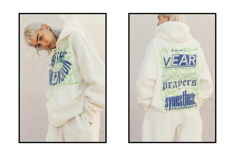 Ignored Prayers Fall/Winter 2019 Lookbook Info Hoodies Long Sleeves William Shakespeare James Baldwin White Green Blue Orange Synesthesia