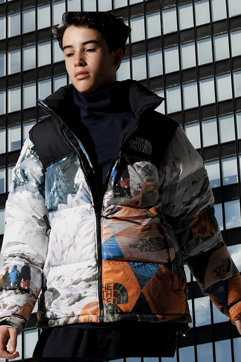 INVINCIBLE The North Face 2019 Capsule collection fall winter fw19 nuptse jacket denali mountain image 1987 Snowbird Everest Expedition sally mccoy Jimmy Wu taiwan the north face urban exploration