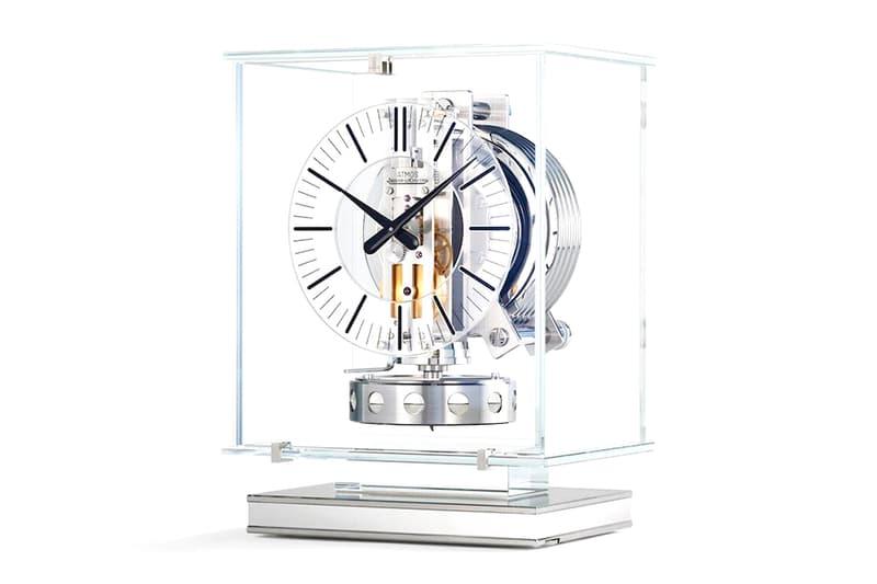 Jaeger-LeCoultre Transparent Atmos Clock Info Jean-Léon Reutter clocks home