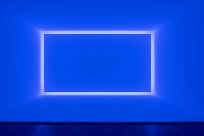 "James Turrell ""Passages of Light"" Museo Jumex exhibition november 22 2019 march 2020 29 Curved Elliptical Glass (Gathas) ganzfeld Amesha Spentas wedgework"