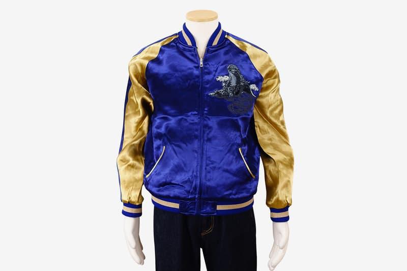 Godzilla Store Souvenir Jacket Release jackets outerwear embroidery sukajan japanese