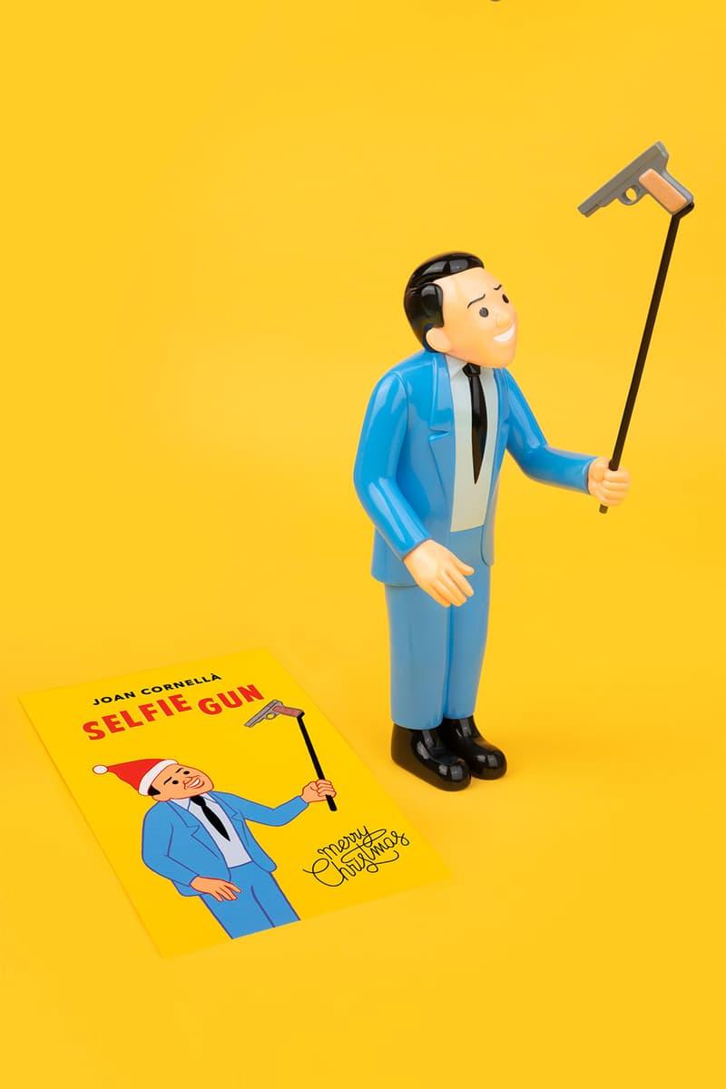 Joan Cornellà Vinyl Figure SELFIE GUN Blue Edition satire sculpture artist comic allrightsreserved