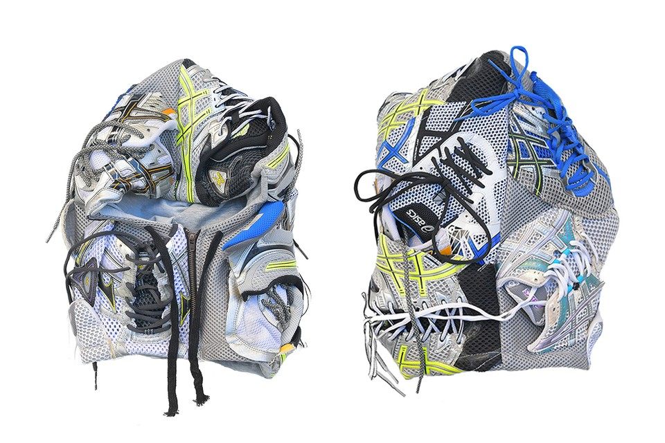 josé wong's Latest Mask Is Made from Upcycled Sneakers