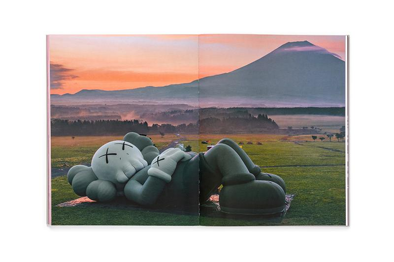 KAWS 'Companionship in the Age of Loneliness' Book NGV International Melbourne Exhibition Sculptures Vinyl Paintings Bronze Mount Fuji Japan