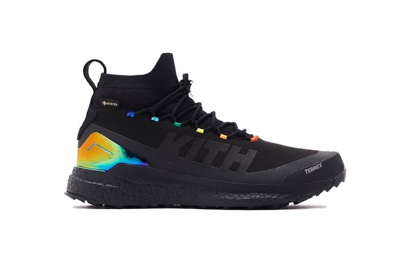 Ronnie Fieg Teases New adidas TERREX rainbow collaborations first look gore tex KITH