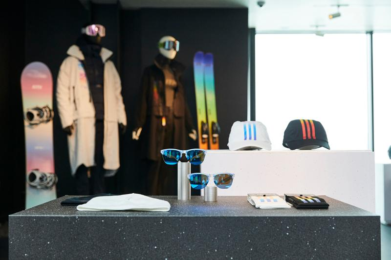 KITH Jackson Hole Pop-Up Store Info Jackson Collection adidas Terrex Oakley Bomber Ski Capita Ski Sets Goggles Helmets Puffer Jackets Sneakers Rainbow Snowboards