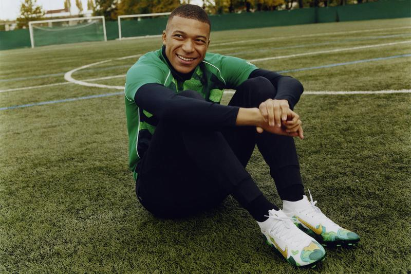 kylian mbappé france french football soccer player paris saint germain psg nike bondy dream collection mercurial superfly 7 air max 98