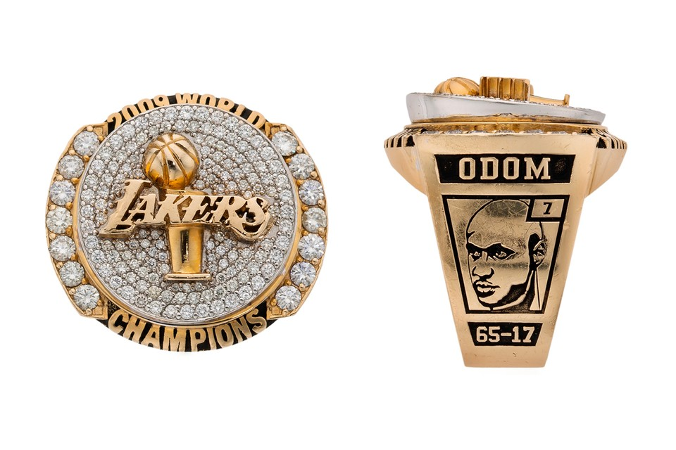 Lamar Odom's Pawned NBA Championship Rings Are Now up for Auction