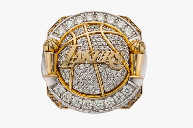 Lamar Odom NBA Lakers Championship Ring Auction Khloe Kardashian Heritage Auctions diamonds jewelry rings Los Angeles Lakers Rings Pave 2009 2010 NBA Finals