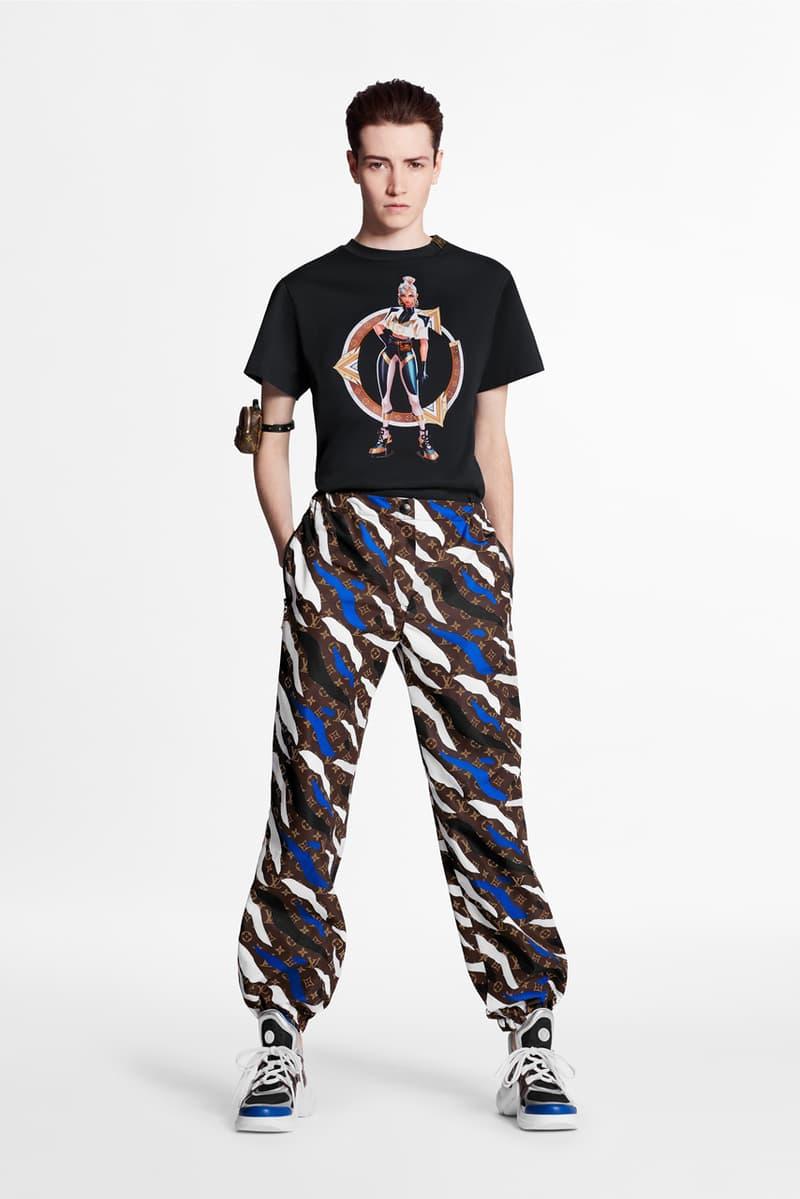 'League of Legends' x Louis Vuitton Apparel Collaboration collection lookbook womenswear menswear accessories bags archlight