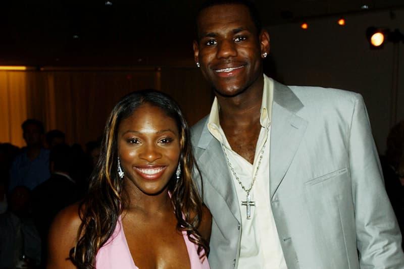 lebron james ap associated press male athlete of the decade 2010s Cleveland cavaliers los angeles lakers miami heat serena williams 2003 espn espys espy swards tennies court