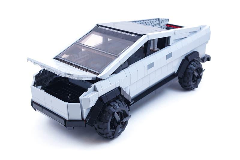 LEGO IDEAS tesla cybertruck model set fan brickinnick