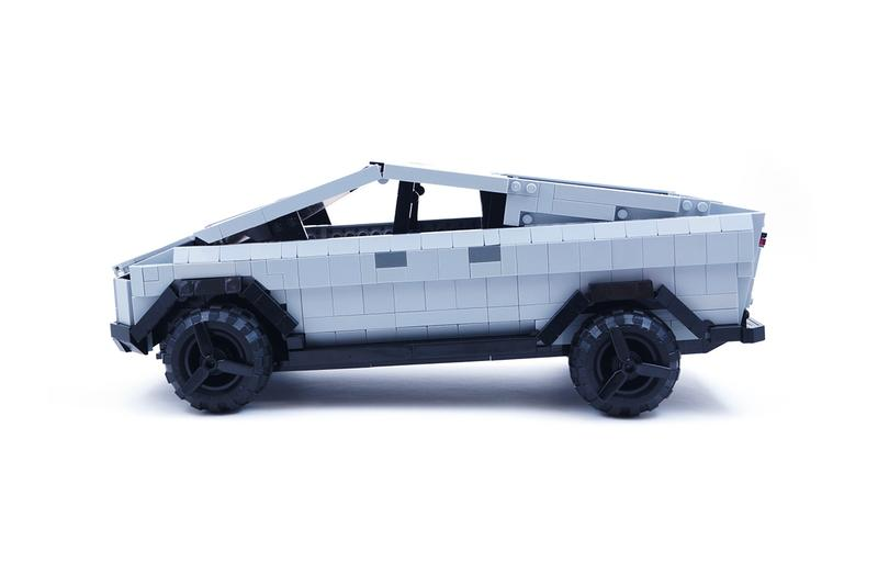 LEGO IDEAS tesla cybertruck model set fan brickinnick