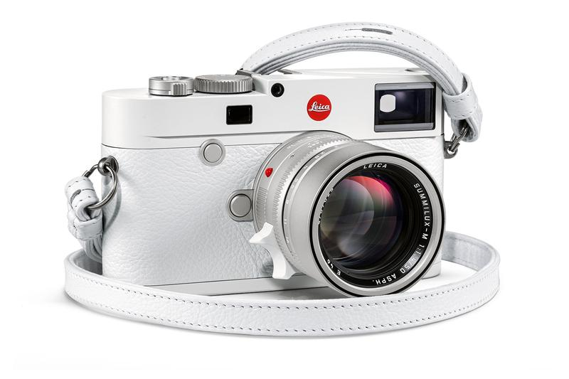 Leica All-White Limited-Edition M10 News cameras german leitz red dot summilux lens film range finder Leica M6 Leica M3