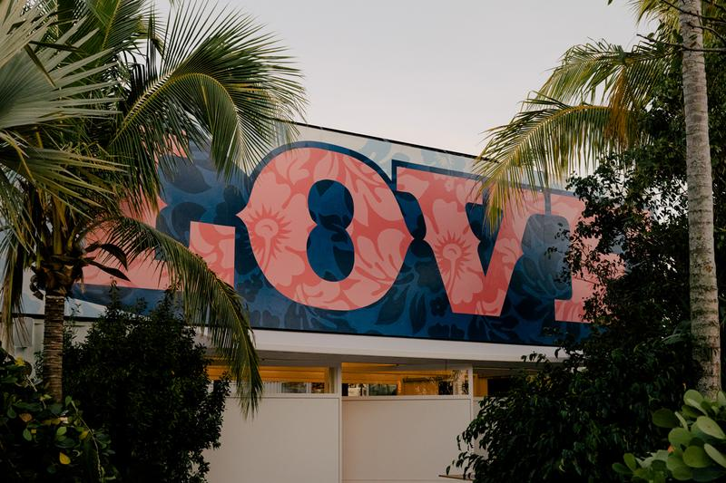 Levi's Haus Miami Pop-Up Customization Space Info Art Basel 2019 Design Studio with Future Finish Tailor Shop Jeans futura gianni lee shepard fairey collaboration