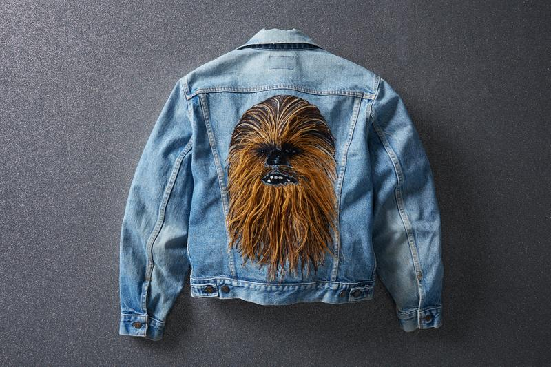 Star Wars x Levi's Chewbacca Trucker Jacket limited edition denim jean collaborations Levi's Authorized Vintage Chewbacca Trucker Jacket release info