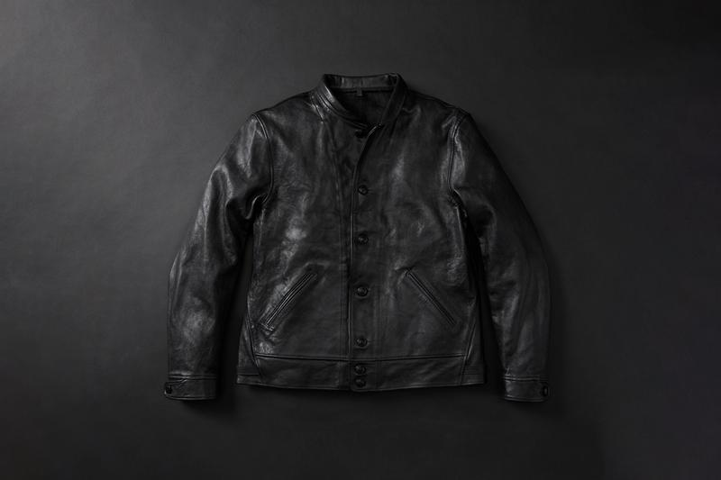 levis vintage clothing albert einstein menlo cossack jacket black leather release limited edition december 2019 remake reproduction