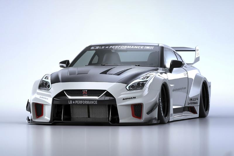 Liberty Walk LB-Silhouette Works GT 35GT-RR Info supercar Nissan Stance Widebody wide speed cars automotive GTR