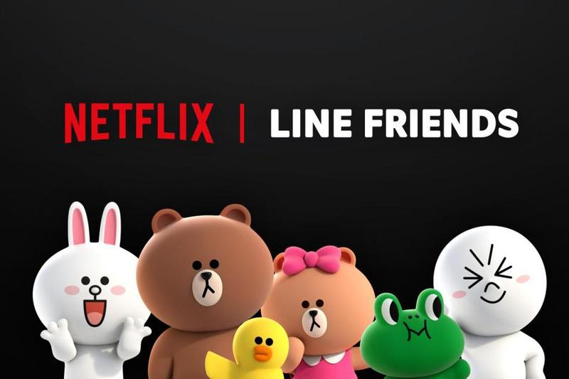 Line Messaging App Mascots Animated Netflix Series