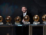 Lionel Messi Wins Record-Breaking Sixth Ballon d'Or, Megan Rapinoe Her First