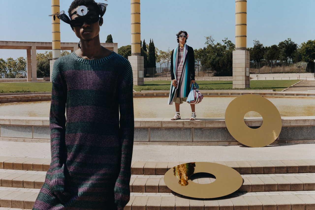 LOEWE Spring/Summer 2020 Publication Tyler Mitchell ss20 collection campaign odyssey barcelona olympic park