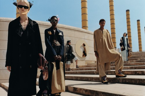 LOEWE's Futuristic Nomads Take Barcelona in SS20 Publication
