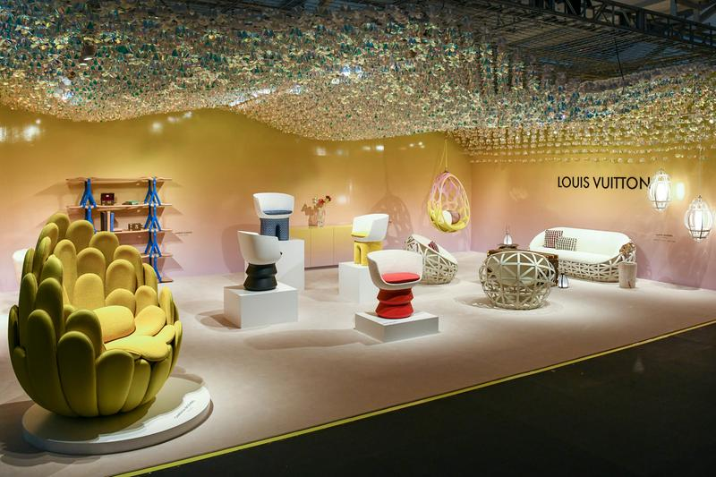 louis vuitton objets nomades design miami andrew kudless swell wave shelf art basel furniture collaboration florida