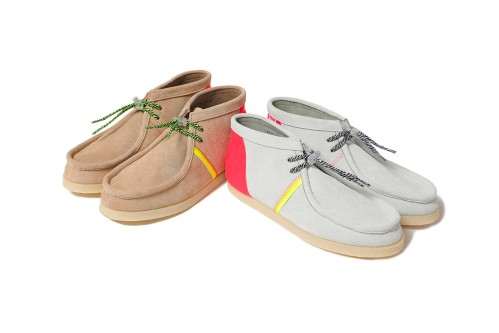 MAGIC STICK and DOUBLE FOOT WEAR Drop Sneaker-Inspired Leather Chukkas