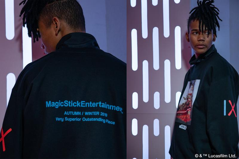 Star Wars x Magic Stick 'Rise of Skywalker' Collection First Order Black Hoodies Lucasfilm