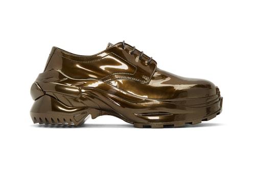"Maison Margiela Dresses Cross Derby & Loafer in ""Riace Bronze"" & ""Dull Grey"""