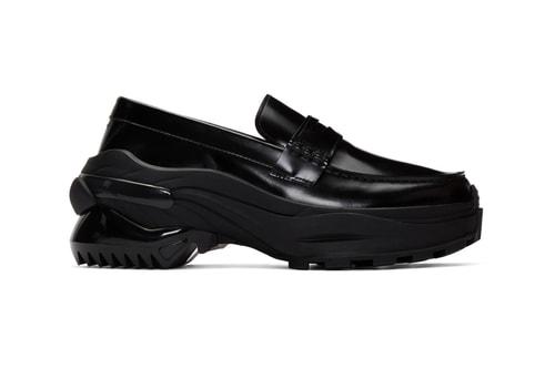 Maison Margiela Drops Chunky Black Dress-Sneakers for FW19