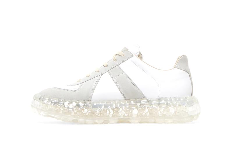 "Maison Margiela Replica Super Bounce Sneakers ""Grey"" First Look Closer Spring Summer 2020 SS20 LN-CC Pre-Order High End Luxury Footwear Runway"