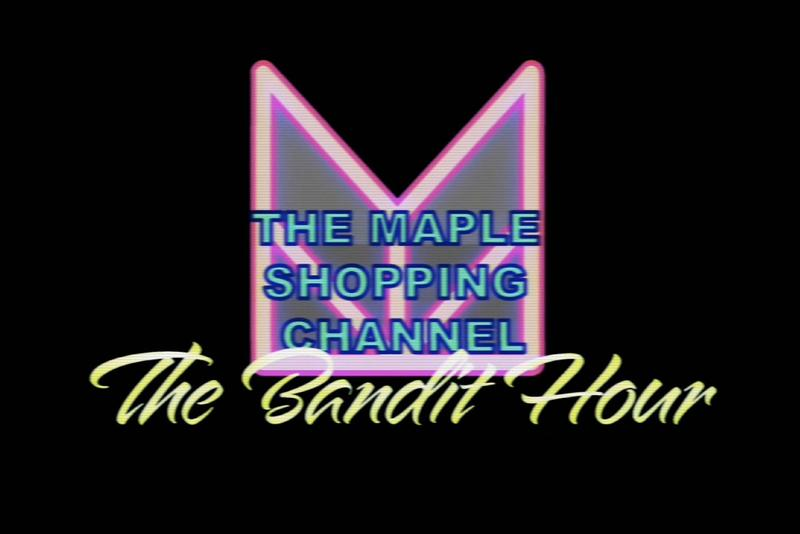MAPLE Fall Winter 2019  Shopping Channel with Poundlandbandit the bandit hour jewelry austin mchanon silver 925 rings necklace chain incense burner meme london comedy midnight rambler