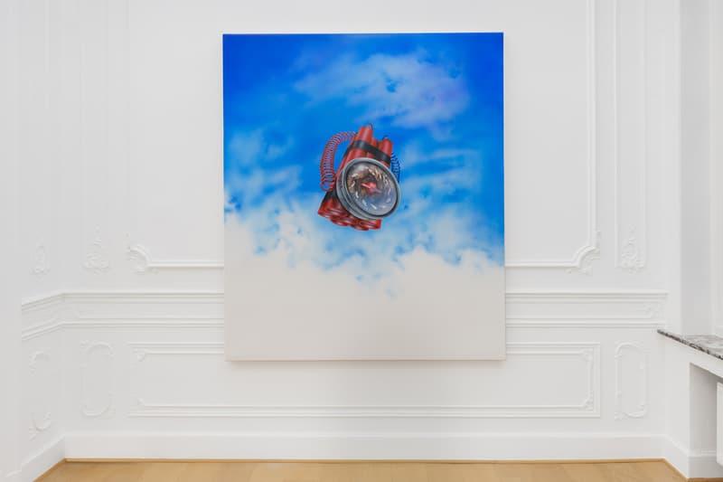 mario ayala shooby doo lang doo lang dong stems gallery exhibition artworks paintings